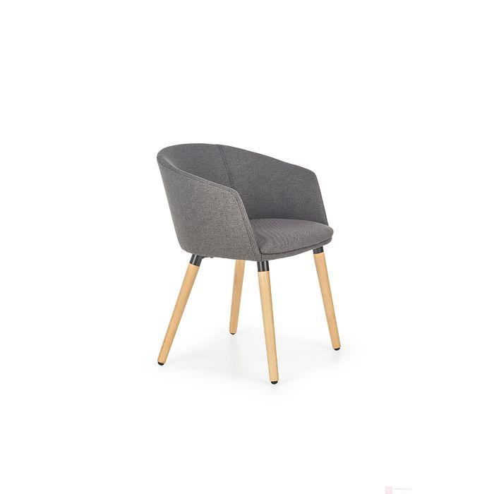 Krzesło K-266 Halmar szary ciemny