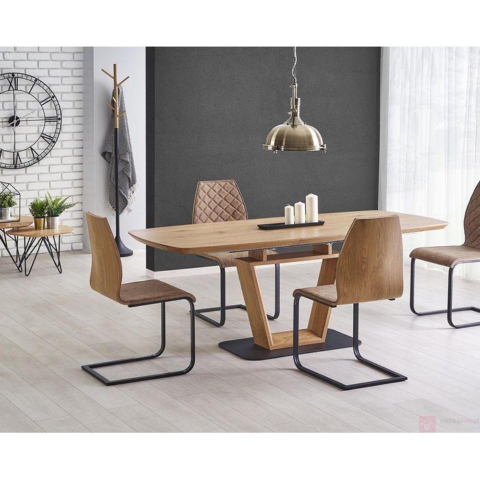 Stół BLACKY Halmar (Dąb złoty)