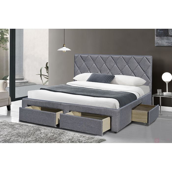 Łóżko tapicerowane BETINA Halmar