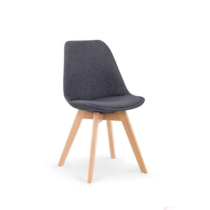 Krzesło K-303 Halmar ciemny popiel