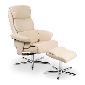 Fotel rozkładany Mayer kremowy