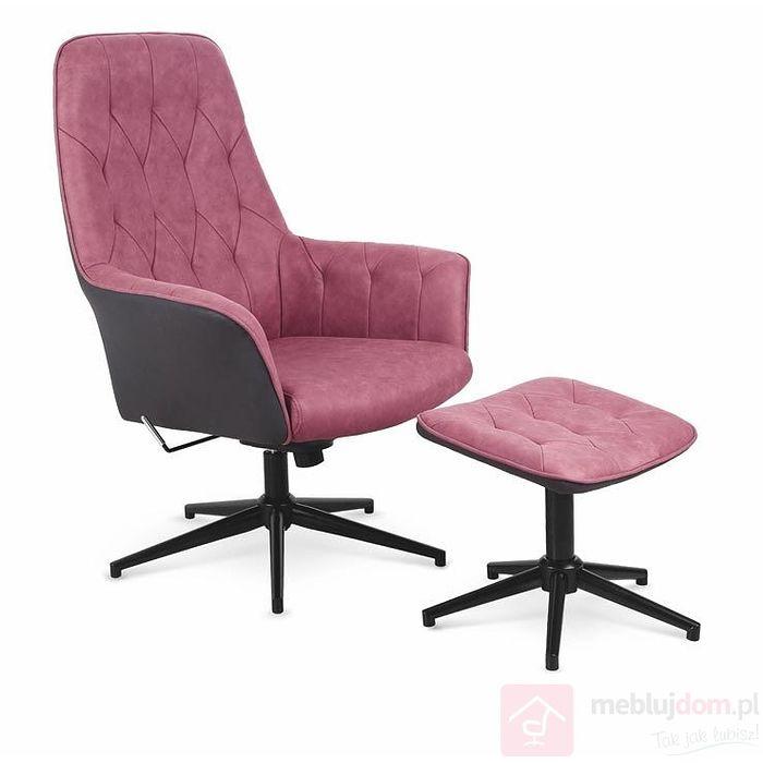 Fotel VAGNER Halmar czerwony