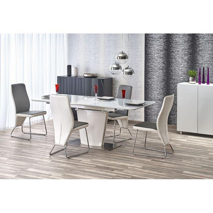 Stół PLATON Halmar (Biały połysk)