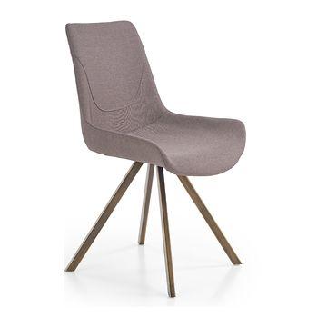 Krzesło K-290 Halmar popielaty
