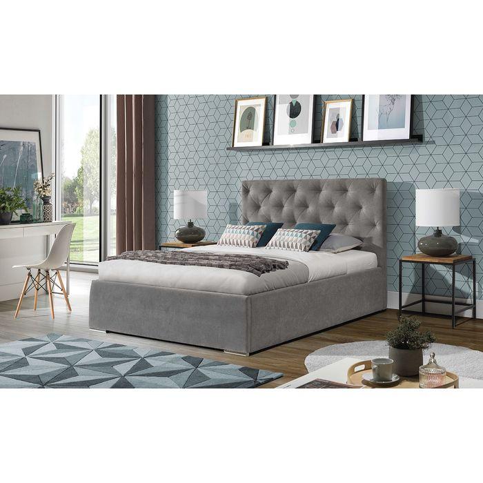 Łóżko tapicerowane KAJA (Enzo 161)