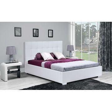 Łóżko tapicerowane MAGIC z pojemnikiem na pościel (Eko skay 017)