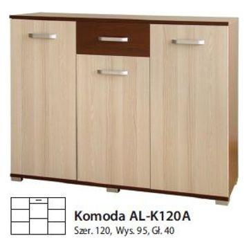 Komoda ALASKA AL-K120 A