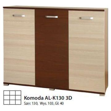 Komoda ALASKA AL-K130 3D