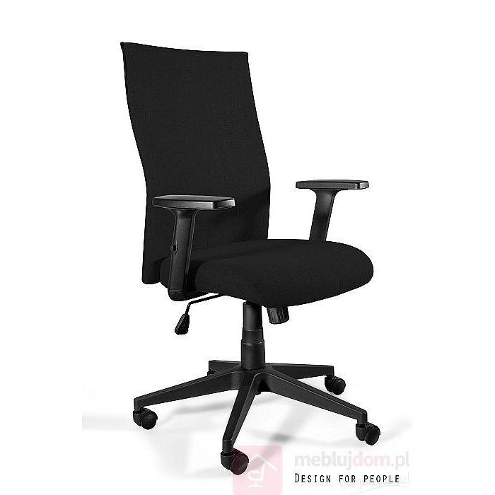 Fotel Black on Black PLUS Materiał Unique