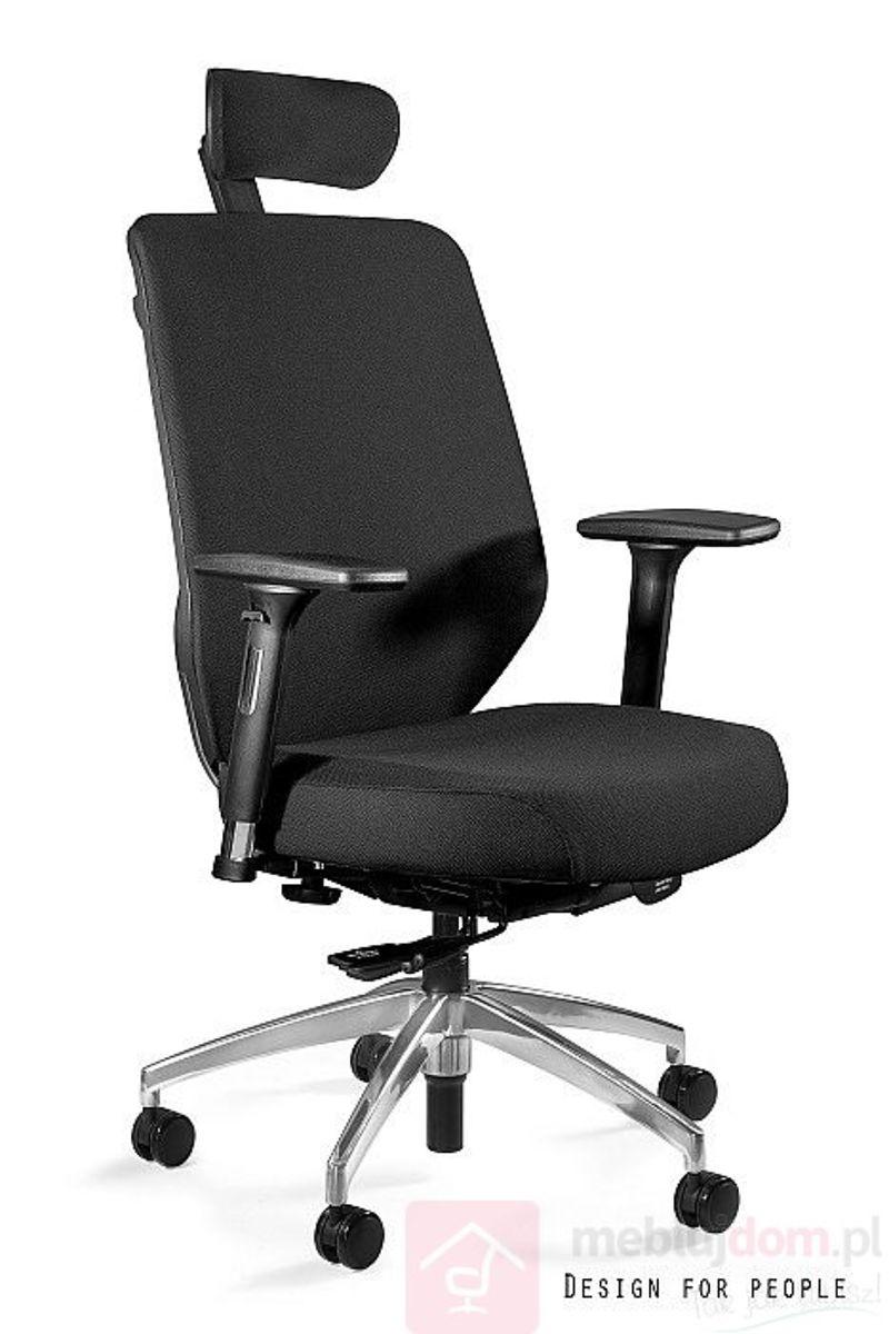 Fotel ergonomiczny HERO Unique Pełna tkanina czarny