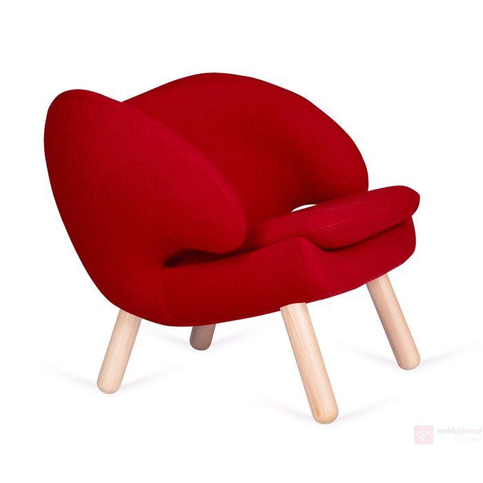 Fotel FLAMINGO czerwony