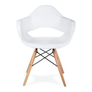 Krzesło GULAR DSW biały,