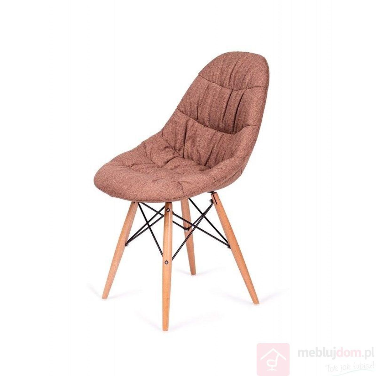 Krzesło RUGO brązowe