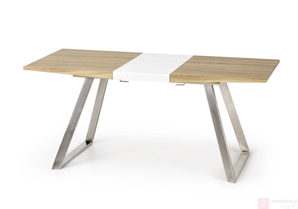 Stół TREVOR Halmar dąb sonoma rozłożony