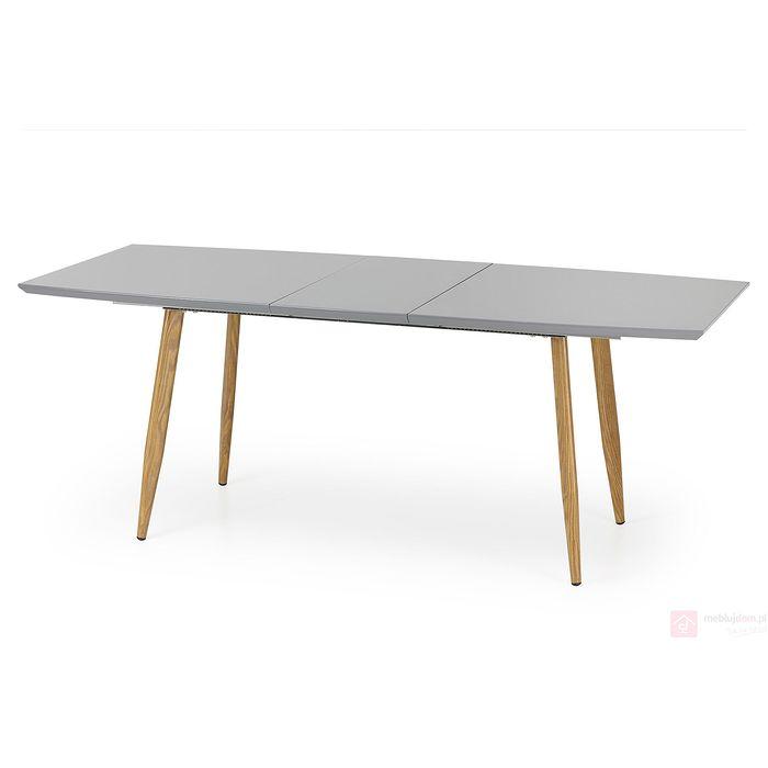 Stół RUTEN Halmar szary rozłożony