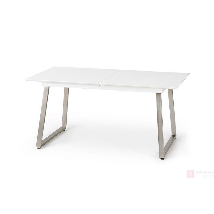 Stół THOMAS Halmar biały + beton złożony