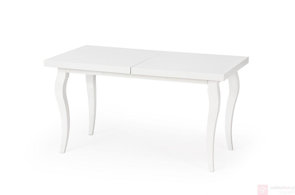Stół MOZART Halmar biały złożony