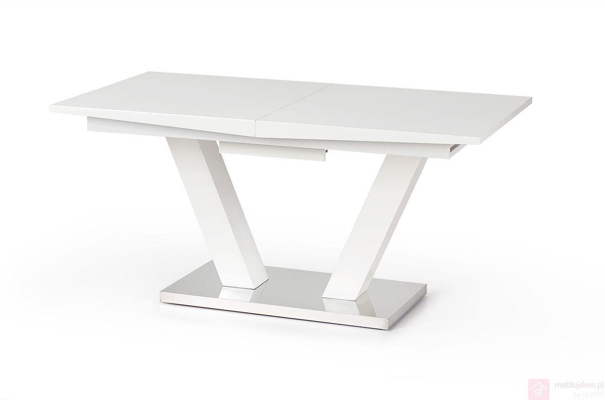 Stół VISION Halmar biały połysk