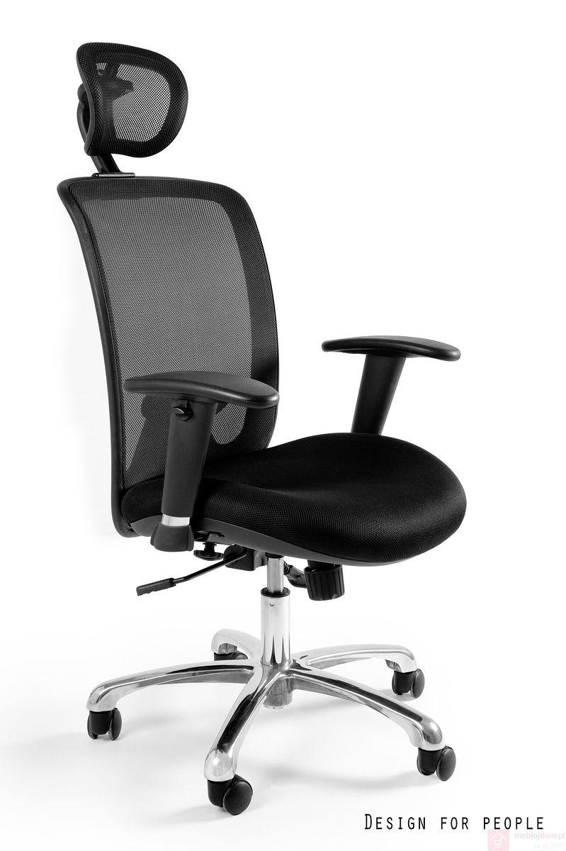 Fotel ergonomiczny Expander Unique czarny