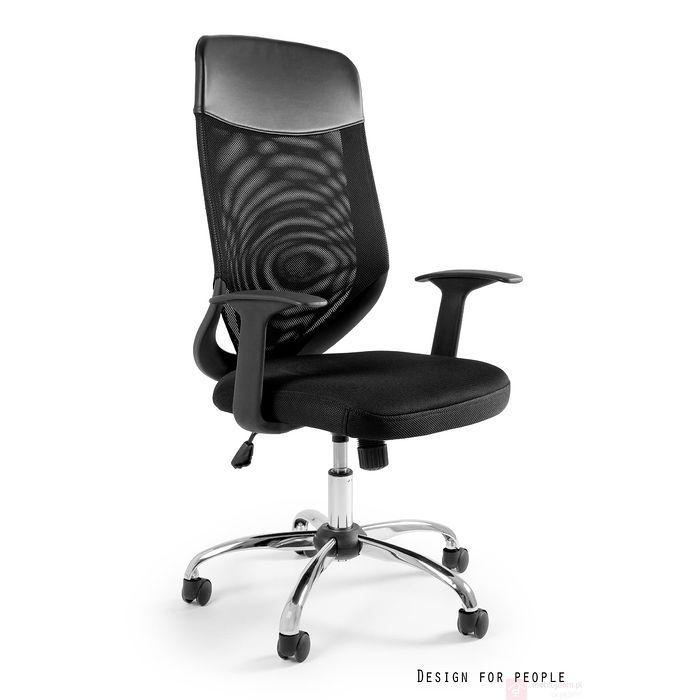Fotel biurowy MOBI PLUS Unique czarny