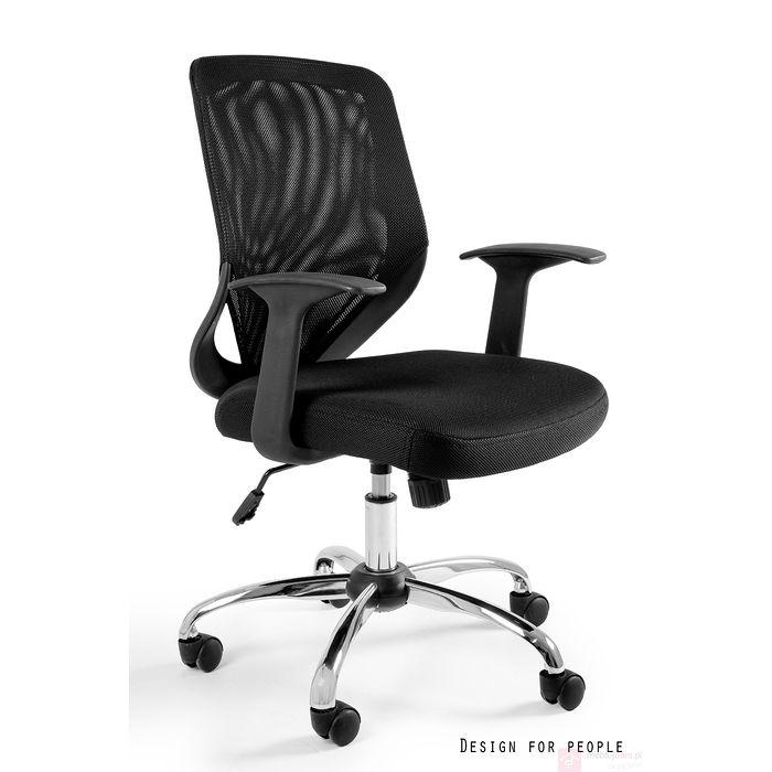 Fotel biurowy MOBI Unique czerń