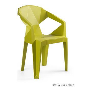 Krzesło MUZE zielone