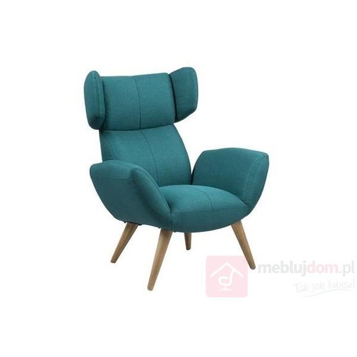 Fotel BALFOUR PETROL niebieski