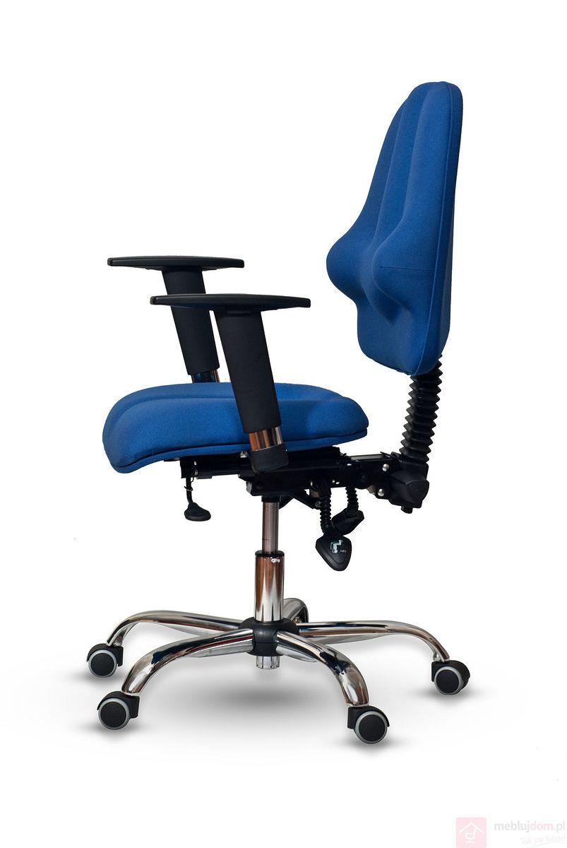 Fotel K1 CLASSIC PRO Kulik System chromowana podstawa, podłokietnik Vario, tkanina