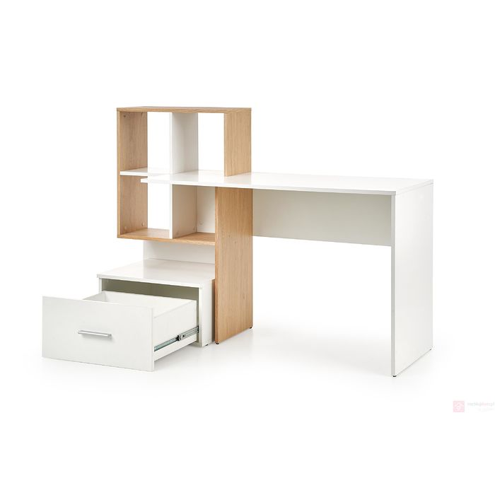 Biurko GROSSO Halmar z wysuniętą szufladą