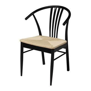 Krzesło York czarny
