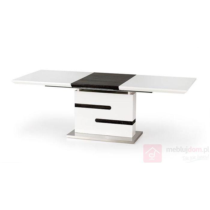 Stół MONACO Halmar biały połysk + beton