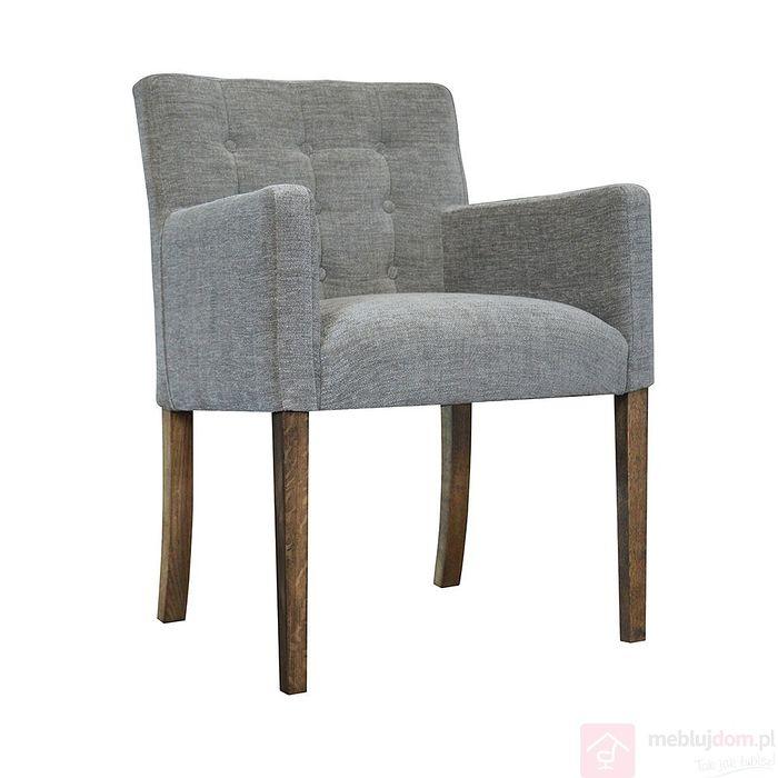 Fotel NORA z guzikami