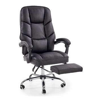 Fotel gabinetowy ALVIN Halmar z podnóżkiem