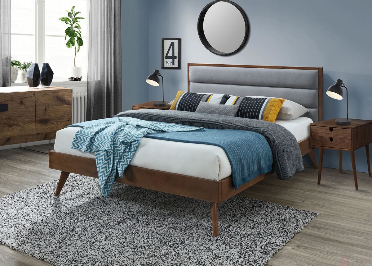 Łóżko ORLANDO Halmar aranżacja