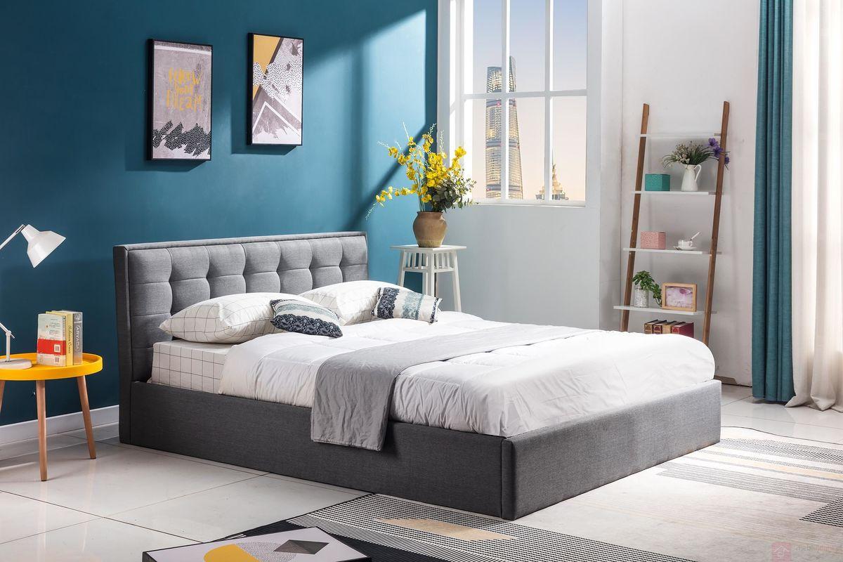 Łóżko tapicerowane PADVA Halmar aranżacja