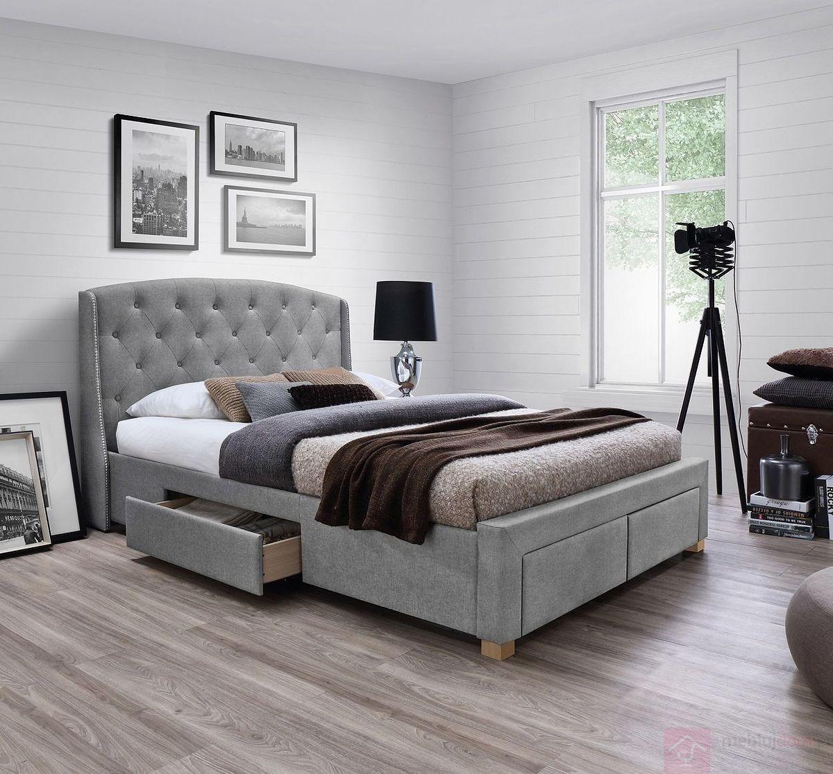 Łóżko tapicerowane MADISON Signal