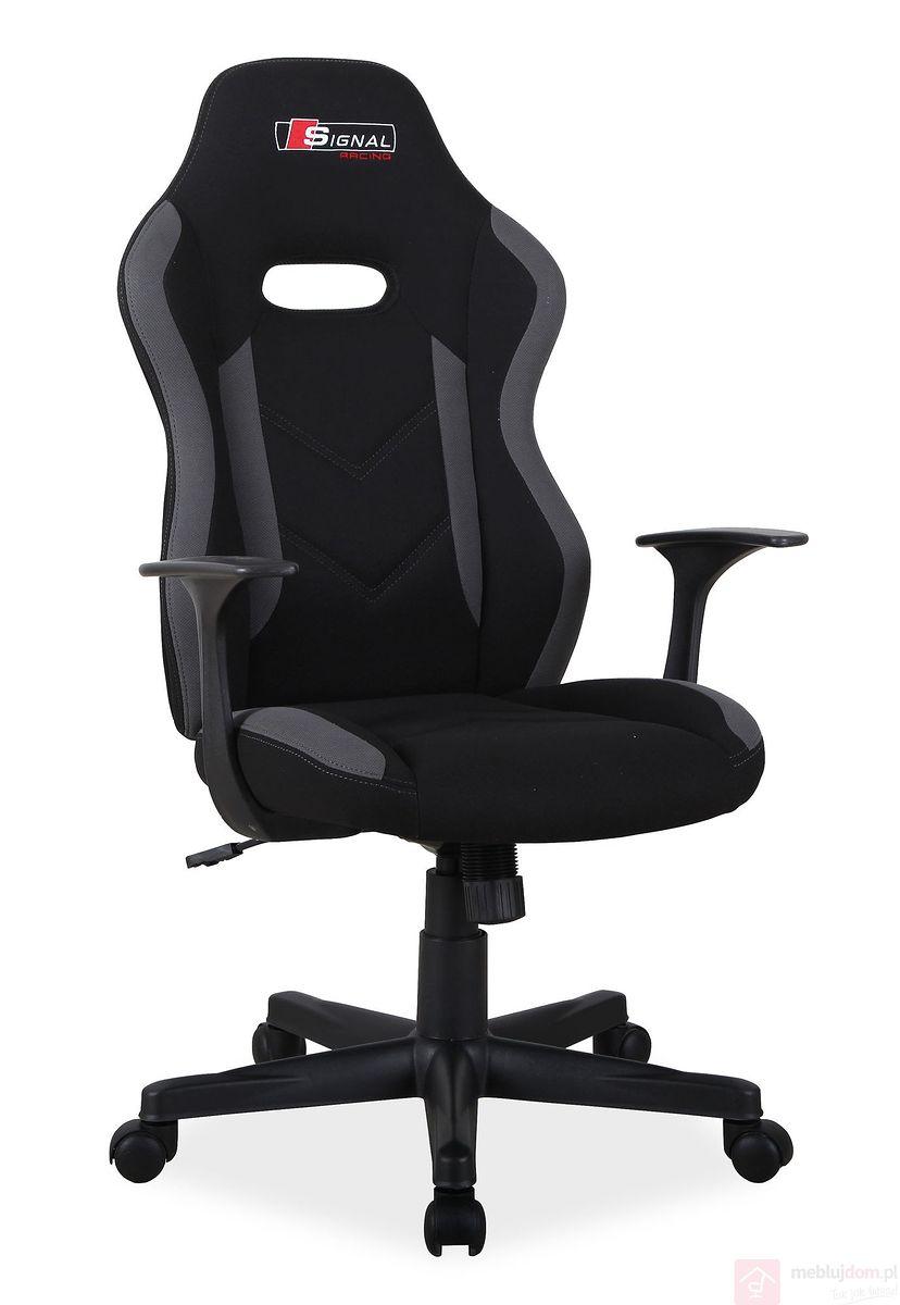 Fotel gamingowy RAPID Signal czarno-szary