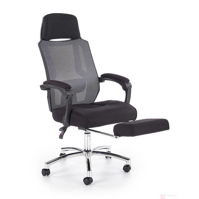 Fotel gabinetowy z podnóżkiem FREEMAN Halmar