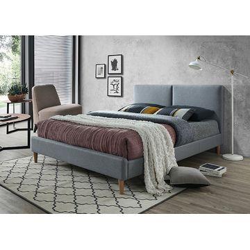 Łóżko tapicerowane ACOMA 160 Signal podwójne