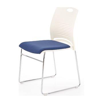Krzesło biurowe CALI Halmar niebieski