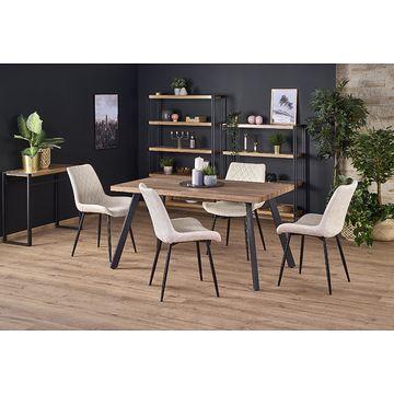 Stół BERLIN Halmar orzech miodowy  złożony