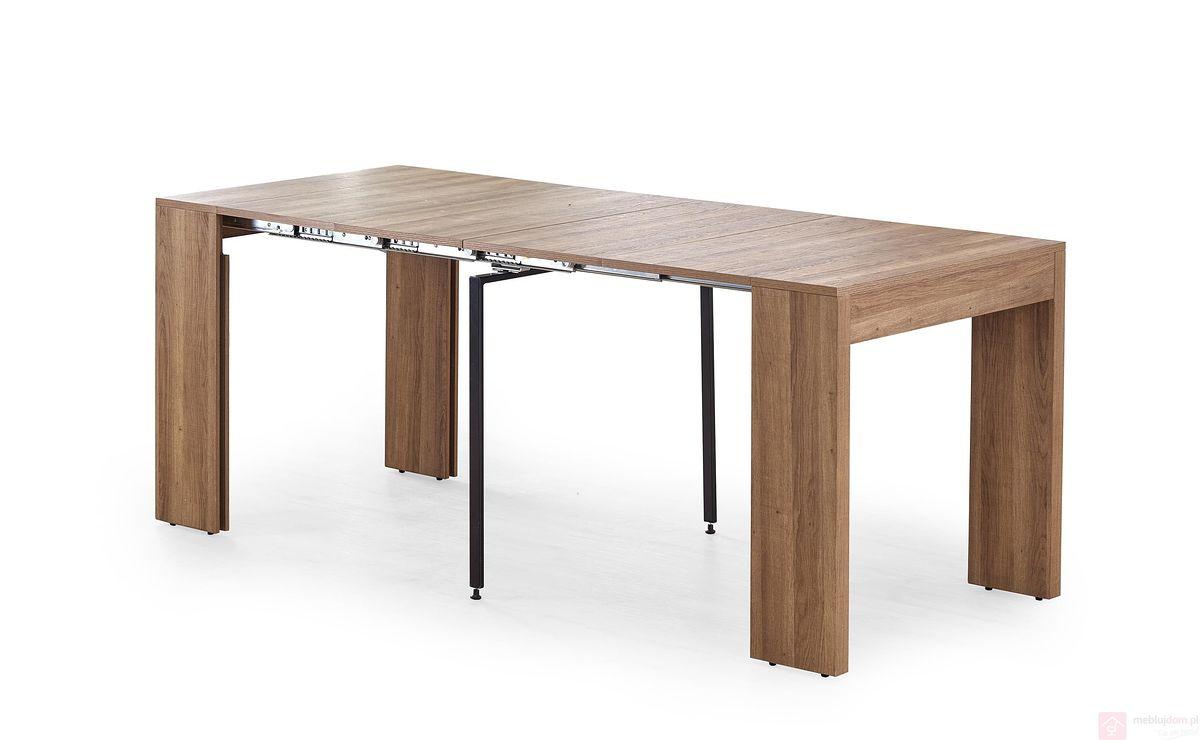 Stół SAMSON Halmar orzech miodowy rozłożony