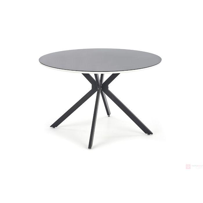 Stół AVELAR Halmar biało-czarny
