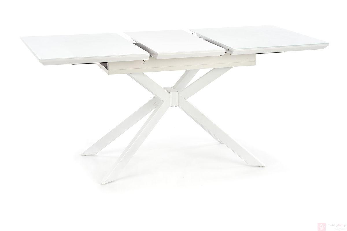 Stół HARPER Halmar Biały rozłożony 1