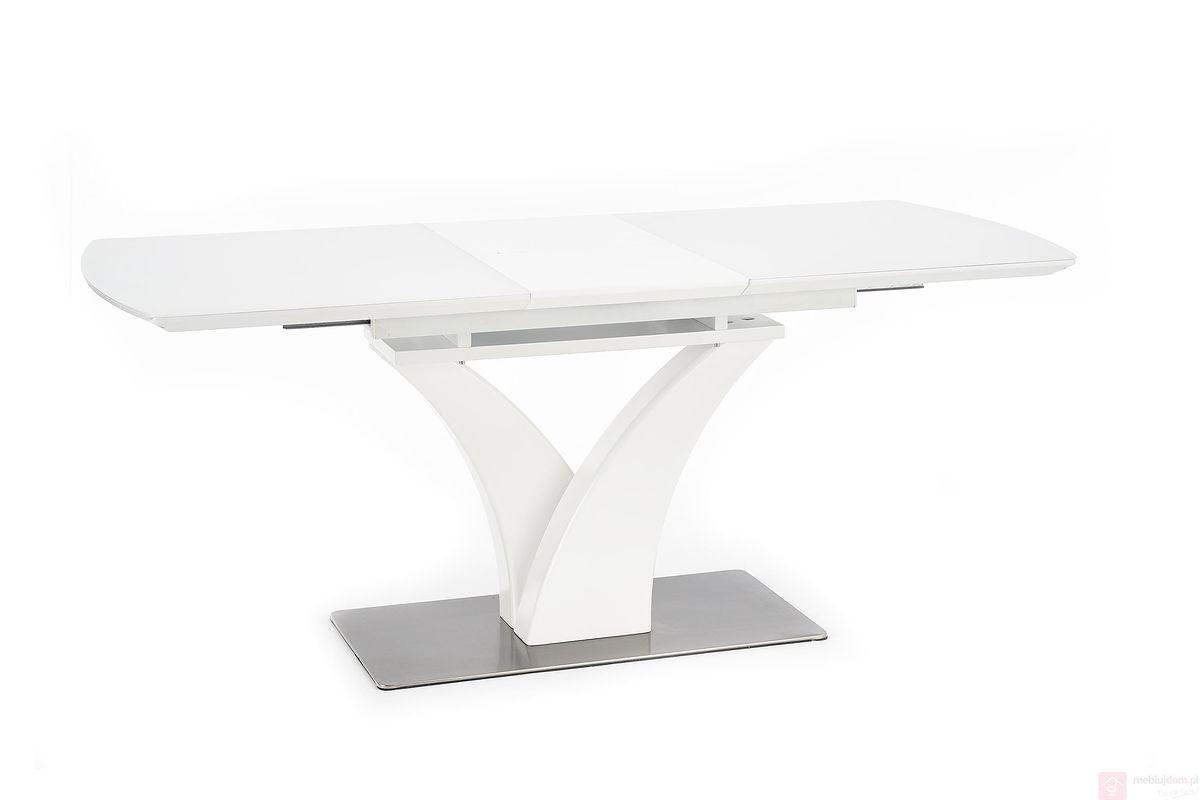 Stół PALERMO Halmar Biały rozłożony