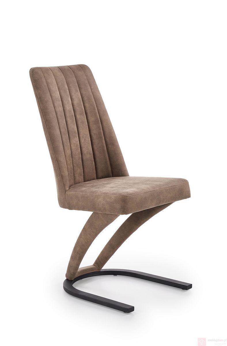 Krzesło K-338 Halmar brąz