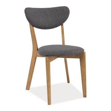 Krzesło ANDRE Signal Dąb naturalny + szary