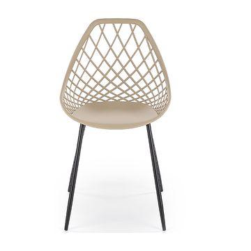 Krzesło K-330 Halmar beż front