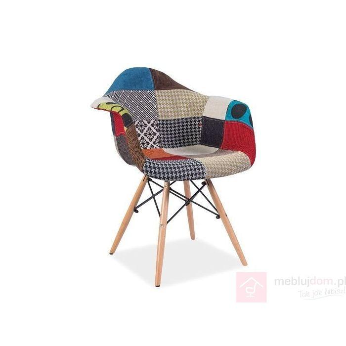 Krzesło DENIS A Signal Wielobarwny
