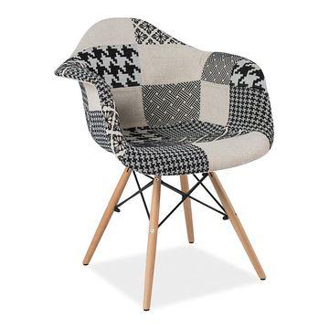 Krzesło DENIS B Signal Czarno-biały